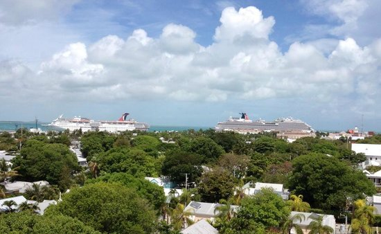 Key West Lighthouse and Keeper's Quarters Museum: Best view from the top...