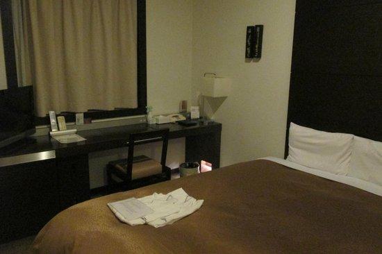 Hotel JAL City Haneda Tokyo: Chambre avec fukatas.