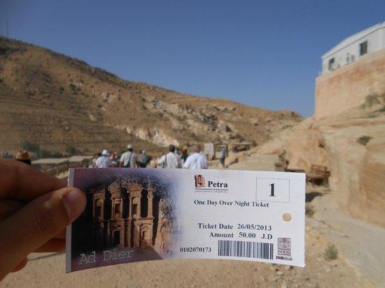 Movenpick Resort Petra : Entrada de Petra
