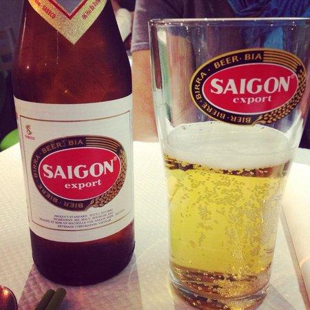 Pho Tai: Bonne bière vietnamienne.