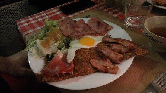 Crêperie Brocéliande : Raclette du Chef
