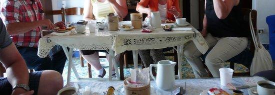 Stella Maris: Frühstückstisch