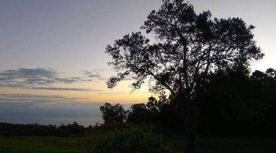 Sunrise at the Hamakua Ranch House