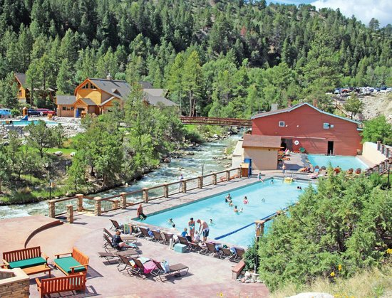 Mount Princeton Hot Springs Resort : Hot Springs Pools