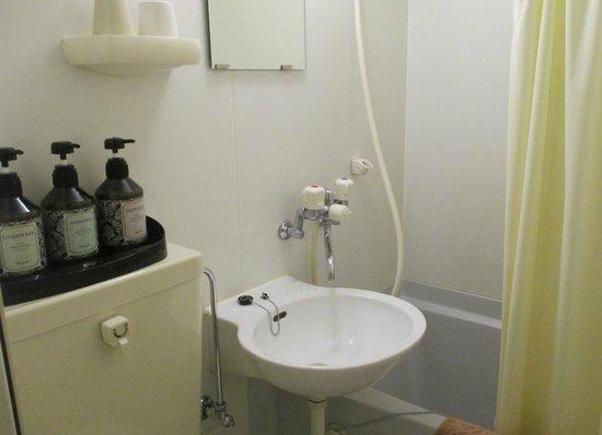 Hotel Kuramae: Salle de bain