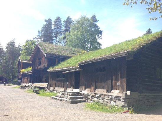 The Norwegian Museum of Cultural History: Farmhouses