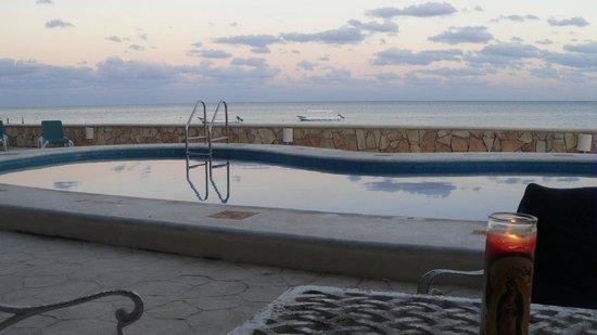 Hotel Hacienda Morelos : Pool
