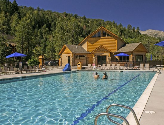Mount Princeton Hot Springs Resort : Relaxation Pool at the Spa & Club