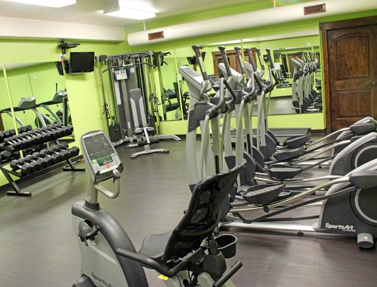 Mount Princeton Hot Springs Resort : Fitness Center in the Spa