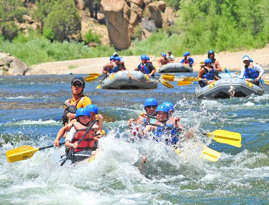 Mount Princeton Hot Springs Resort : Whitewater Rafting Nearby