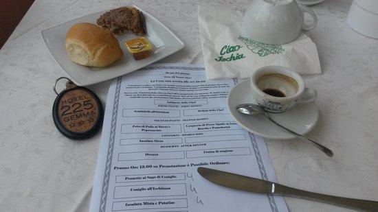 Gemma Hotel: colazione coi fiocchi