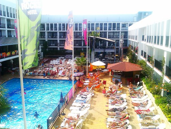 Ibiza Rocks Hotel: Decent