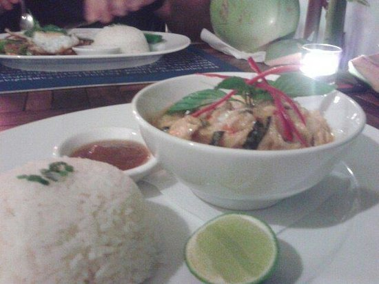 Haven : Khmer amok coconut curry