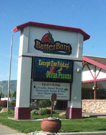 Er Burrs Restaurant Main Sign