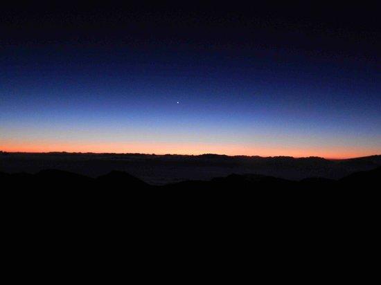 Haleakala Crater: Pre-dawn