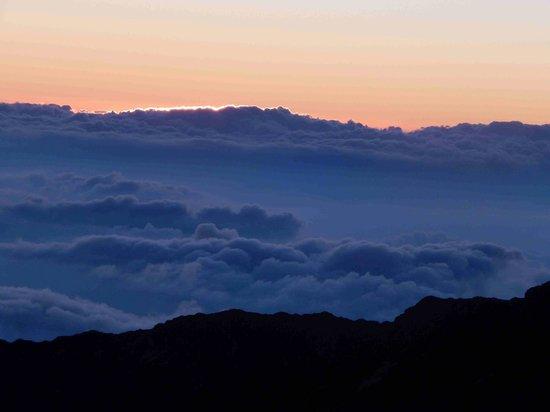Haleakala Crater: Almost sunrise