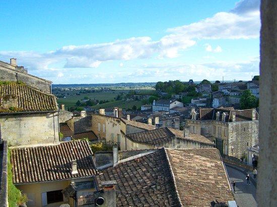Maison de la Commanderie: View from our room.