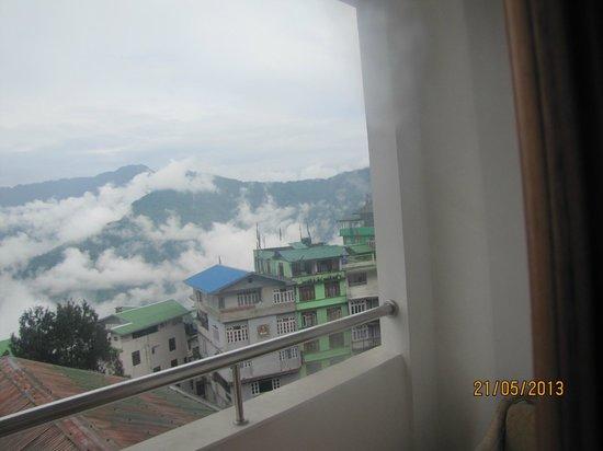 LA Ttakshang Residency Hotel & Spa: View From Room