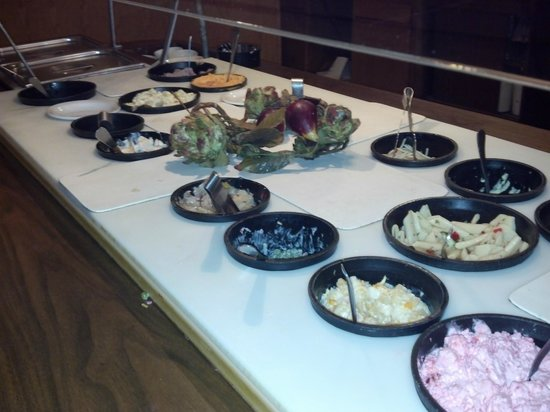 Country Heights Supper Club and Motel: County Heights Supper Club - Freshly prepared, in house salad bar - Hazel Green WI