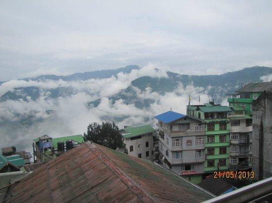 LA Ttakshang Residency Hotel & Spa : View From Room