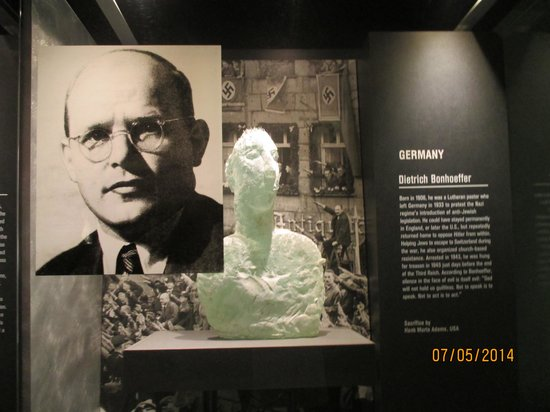 National Liberty Museum : Le Pasteur Dietrich Bonhoeffer