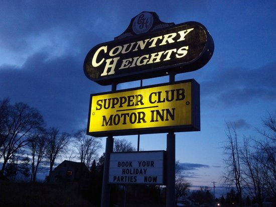 Country Heights Supper Club and Motel: Country Height Supper Club - An Old Fashioned Experience - Hazel Green WI