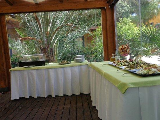 Magaggiari Hotel Resort: buffet du midi