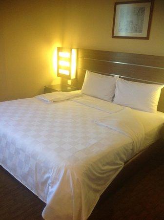 Cititel Penang: まずまずの寝心地のベット