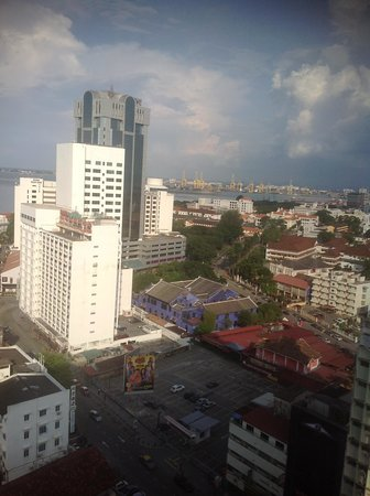 Cititel Penang: 部屋によっては海が見えます