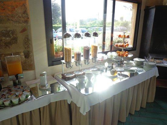 Magaggiari Hotel Resort: petit déjeuner