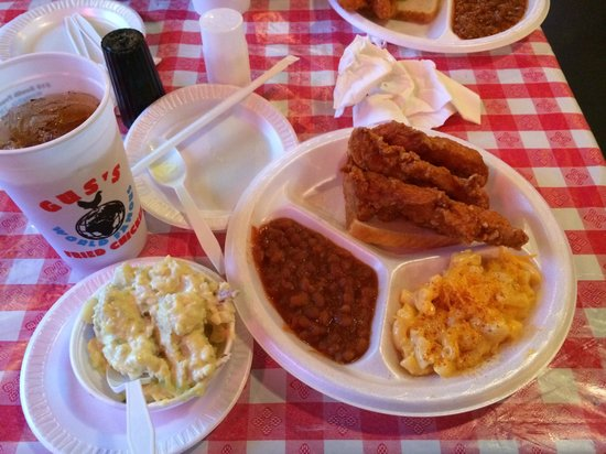 Gus's World Famous Fried Chicken Southaven: Food