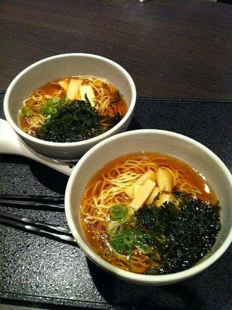 Yugiri no Yu Dormy Inn Premium Namba: midnight snack after 8.30 PM