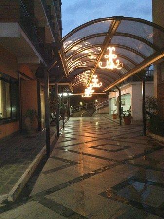 Entrance of Astor Hotel