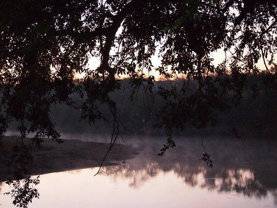 Hamiltons Tented Safari Camp: Early Morning From the Deck at Hamiltons