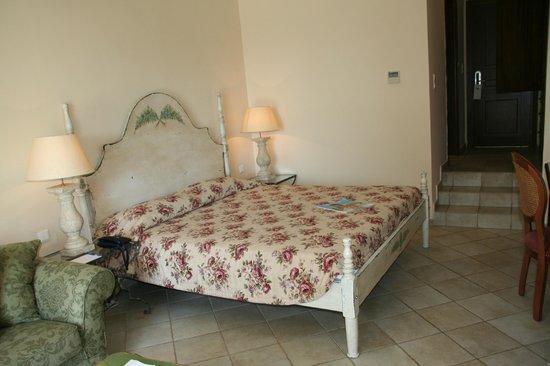 Grecotel Corfu Imperial: un lit très confortable!