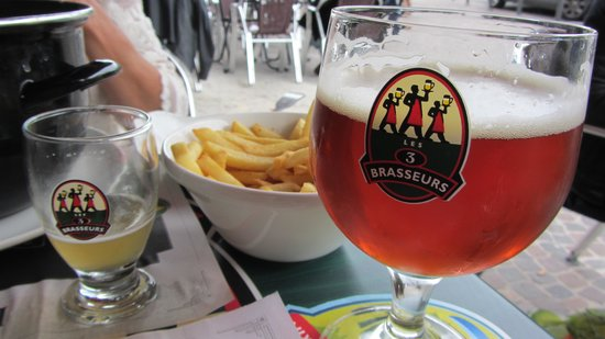 Hotel de la Paix: Good nearby restaurant with beer brewed on site
