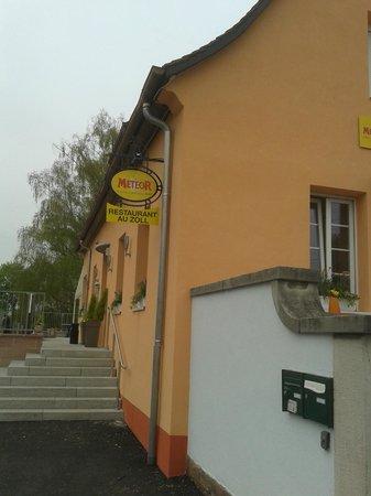 Restaurant Au Zoll : Entrée
