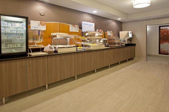 Holiday Inn Express Minneapolis-Minnetonka: Breakfast Bar