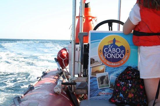 El Cabo a Fondo: On board