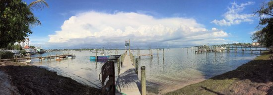 Bridge Tender Inn: Panoramic view of Sarasota Bay compliments of Rick Armstrong