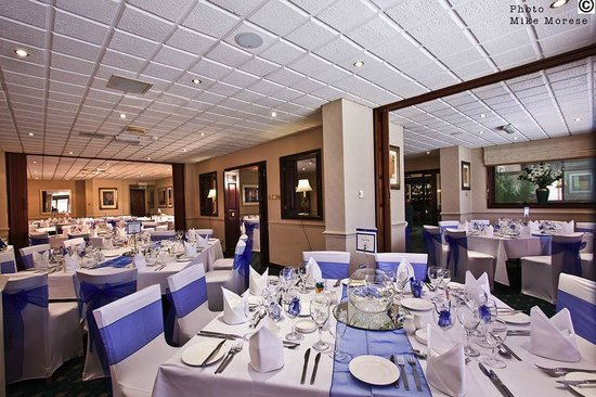 Wycliffe Hotel: The Restaurant All Dressed Up For A Wedding