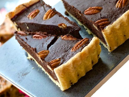 Gastrono-me: Chocolate, Pecan pastry - what more does it need?
