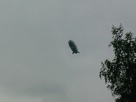 Zeppelin Museum : Zeppelin dal vivo