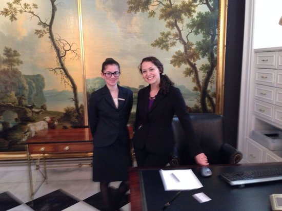 The Jefferson, Washington DC: Delightful front desk receptionists. Very kind and helpful.