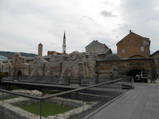 Hotel Europe Sarajevo: Lateral do hotel