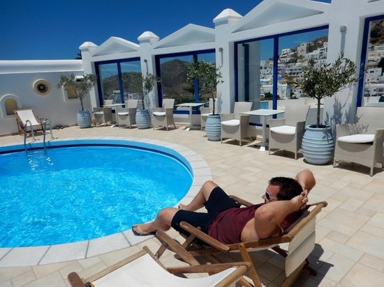Lofos Village Hotel : Pool area