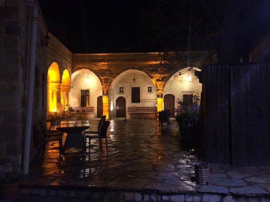 Cappadocia Palace: Terrace at night