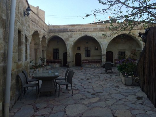 Cappadocia Palace: Terrace in the afternoon