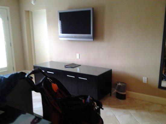 Crowne Plaza Orlando Downtown : Nice room with plasma TV