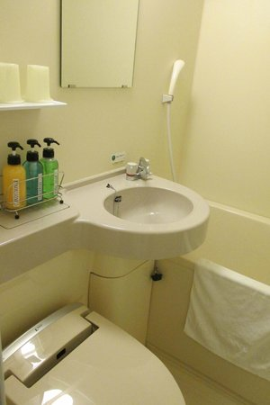 Hotel Route Inn Kanazawa Ekimae : Salle de bain